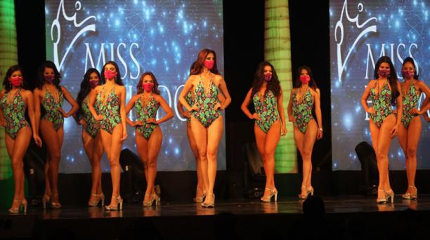 La Organización del Miss Ecuador se pronunció este 22 de octubre del 2020, tras la revelación de una excandidata está contagiada de coronavirus. Foto: Enrique Pesantes/ EL COMERCIO