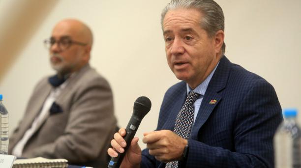 Las declaraciones de Zevallos llevaron al pronunciamiento del presidente de la Federación Médica Ecuatoriana. Foto: Diego Pallero / EL COMERCIO