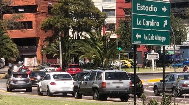 Durante un recorrido efectuado por este Diario el 4 de noviembre del 2020, se observó que había fluidez en las vías de Quito, tras los  cambios en la medida Hoy Circula. Foto: Eduardo Terán/ EL COMERCIO