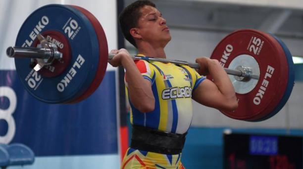 David Guadamud es uno de los seleccionados ecuatorianos que buscarán medallas en la Copa del Mundo. Foto: Secretaría del Deporte