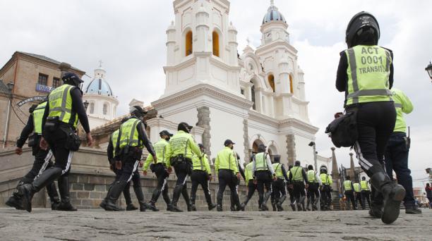 Los operativos de control se iniciaron la mañana de este viernes 13 de noviembre del 2020. Foto: Eduardo Terán / EL COMERCIO