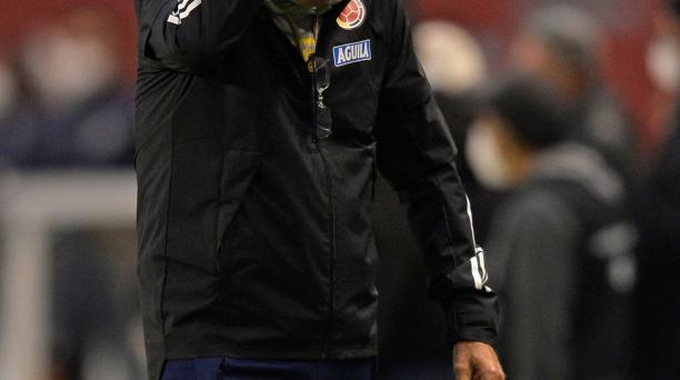Carlos Queiroz se lamentó por la derrota de Colombia ante Ecuador, por las eliminatorias. Foto: EFE