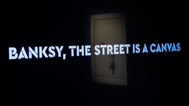 Banksy sigue dando de que hablar con su arte diferente e irreverente. Foto: EFE