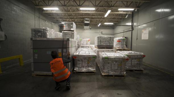 Latam Cargo tiene entre 10 y 14 vuelos semanales de cargueros desde y hacia Quito.