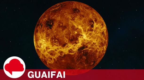 Imagen obtenida por la Pioneer Venus Orbiter y la misión Magallanes. Foto: NASA