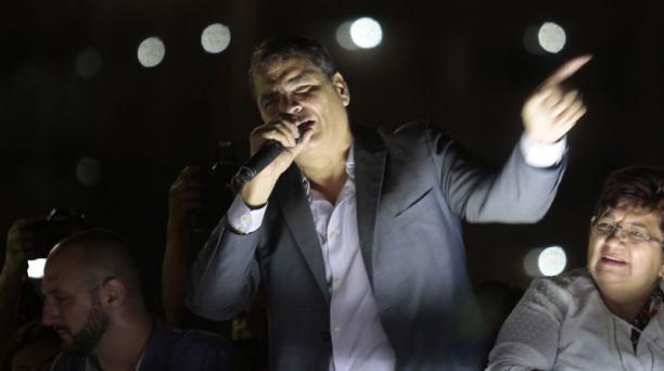 El Tribunal de la Corte Nacional de Justicia ordenó este 20 de diciembre del 2020 embargar los bienes del expresidente Rafael Correa y otros condenados por el caso Sobornos. Foto: Archivo/ EL COMERCIO.