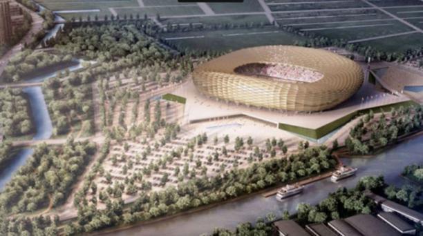 Ubicado en la ciudad de Kaliningrado, este estadio puede albergar a 45 000 seguidores.