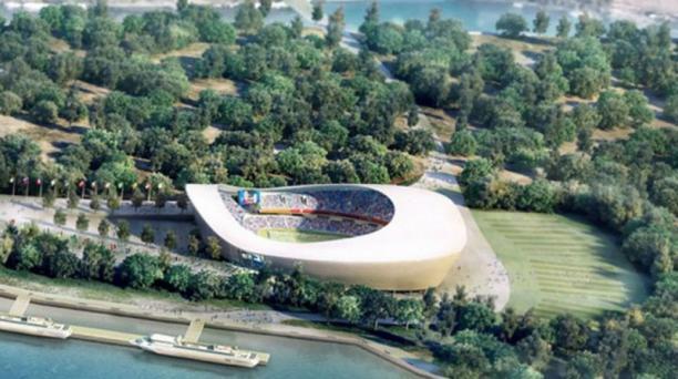 Ubicado en la sexta ciudad más grande de Rusia, el estadio Samara tiene capacidad para congregar a 45 000 hinchas.
