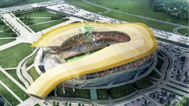Ubicado en una de las ciudades más antiguas de Rusia, el estadio Rostov-on-Don tiene capacidad para congregar a 44 000 hinchas.