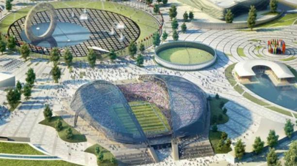 El estadio Fisht Olympic puede albergar a 48 000 seguidores.