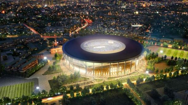 El estadio Central de Ekaterimburgo tiene capacidad para 44 000 aficionados.