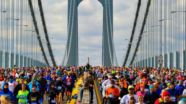 La competencia de Estados Unidos convocó a cerca de 50 000 atletas. Foto: AFP
