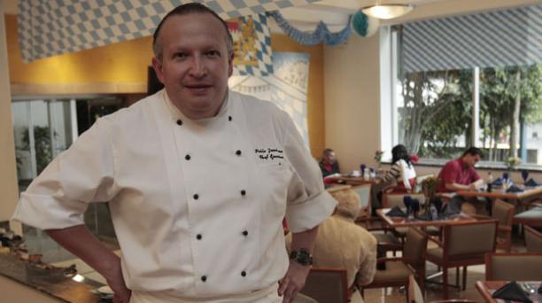 Pablo Zambrano fue chef del hotel Hilton Colón por 10 años. Foto: Archivo.