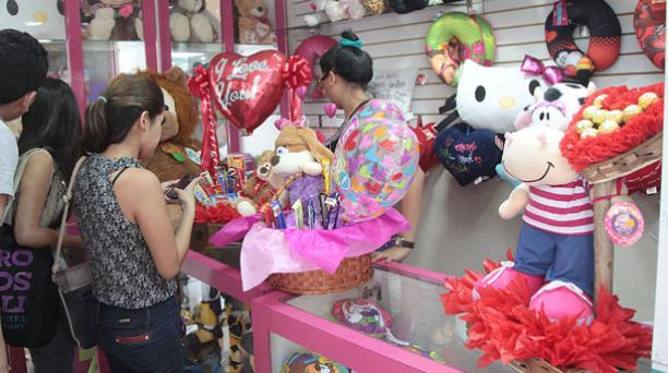 En Guayaquil, el local Amelia ofrece regalos hechos al gusto del cliente. Foto: Mario Faustos/ EL COMERCIO.