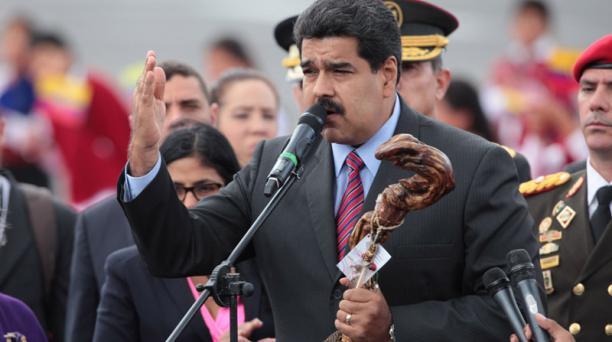 Nicolás Maduro arribó a Ecuador para su cita con Juan Manuel Santos. Foto: Paúl Rivas Bravo / El Comercio