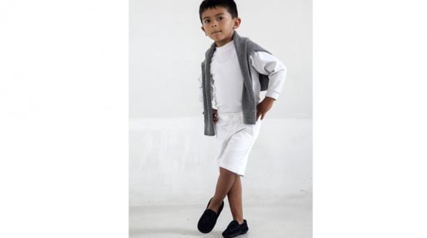 4.- Pips elabora calzado para niños y niñas de 0 a 4 años. Ahora están promocionando los mocasines. Foto: Armando Prado / El Comercio.