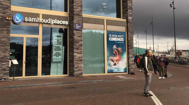 VR Cinema, la sala de cine de Realidad Virtual, está ubicada en Holanda. Es la primera de su tipo en el mundo. Fotos: Estéfano Dávila Ferri / EL COMERCIO