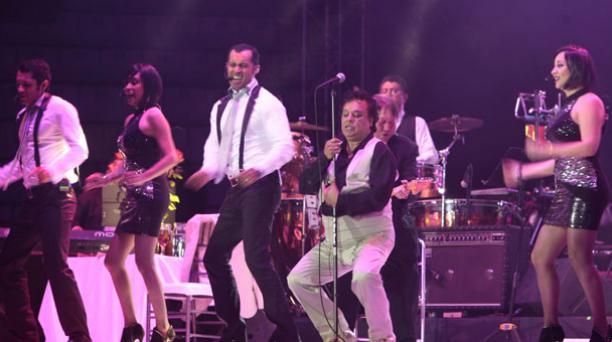 Juan Gabriel se presentó por última vez en Quito el 14 de marzo de 2014. Foto: Eduardo Terán/ EL COMERCIO.
