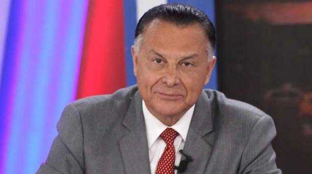 Patricio Zuquilanda en el Diálogo Presidencial 2017
