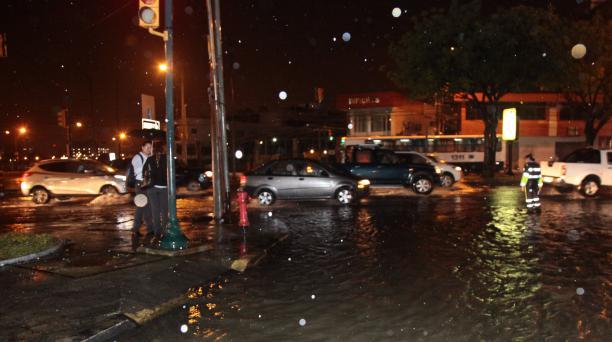 Norte de Guayaquil inundado por las lluvias