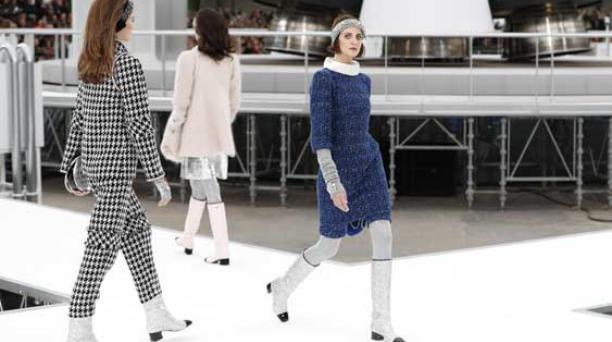 Chanel presenta una pasarela de otro mundo