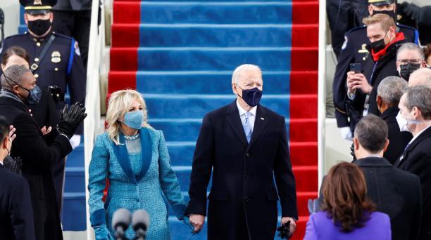 Biden, de 78 años, es el presidente con más edad que ha tomado posesión en la historia del país. Foto: Reuters