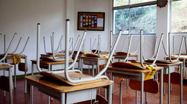 Las aulas vacías tras un año de pandemia son una realidad en todo el mundo. Foto: Roberto Peñafiel / EL COMERCIO