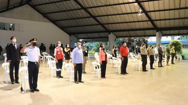 Inicio de la jornada electoral en Santo Domingo de los Tsáchilas. Foto: El Comercio