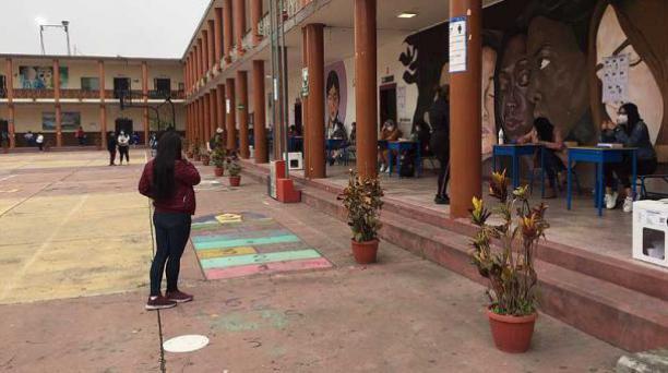 Sufragio en Imbabura. Foto: Washington Benalcázar / El Comercio