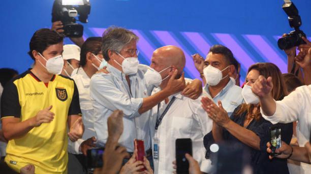 Guillermo Lasso, es el virtual presidente electo de Ecuador por un periodo de cuatro años. Foto: Enrique Pesantes / EL COMERCIO