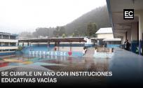 Colegios y escuelas en Ecuador cumplen un año vacíos por la pandemia del covid-19