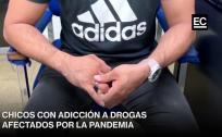 Testimonios de chicos con adicción a las drogas afectados por la pandemia
